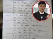 """Bạn trai độc nhất lớp người ta: Miệt mài viết """"thư tình"""" tặng 34 nữ sinh nhân ngày 8/3"""