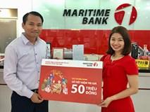 Gần 11 nghìn khách hàng nhận lộc từ Maritime Bank