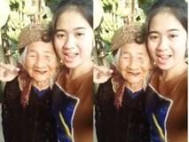 Video: Cụ bà cười móm mém mắng yêu cháu gái bằng giọng Nghệ An