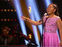 Cô bé 12 tuổi hát hay như diva khiến khán giả Mỹ thán phục