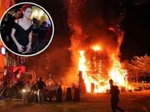 Hà Hồ, Lan Khuê hoảng loạn chạy khỏi đám cháy bất ngờ ở họp báo ra mắt phim King Kong