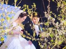 """Cặp đôi Việt sinh sống tại Mỹ dành gần 1 năm để chuẩn bị đám cưới """"độc"""" với bạt ngàn hoa"""