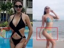 Tưởng khoe ảnh bikini nuột nà được khen ngợi, Phi Thanh Vân đã bị bóc mẽ điều bất thường