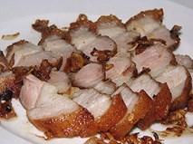 Đây là cách các nhà hàng vẫn làm để món thịt quay được giòn bì hấp dẫn