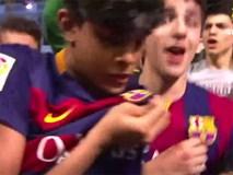 Những màn ăn mừng 'quên hết sự đời' của fan Barca