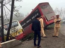 Chủ ôtô khách bị xe buýt tông tử vong