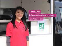 Ý tưởng bán nem, cơm chiên trên xe tải giúp cô gái Việt thắng cuộc thi khởi nghiệp tại Pháp