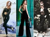 Học Hồ Ngọc Hà cách mix đồ để có thể mặc cả cây đen sành điệu