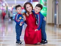 Mẹ con Đan Lê hạnh phúc bên nhau ngày cuối tuần