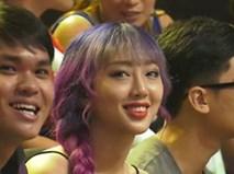 Cô gái tóc tím được tìm kiếm sau chương trình 'Giọng ải giọng ai'