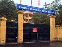 Giáo viên tố sai phạm của Hiệu trưởng Trường THCS Phú Đô