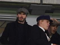 Beckham dẫn đầu dàn VIP đến xem trận Chelsea gặp MU
