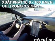 SUV tăng tốc nhanh nhất thế giới - Tesla Model X