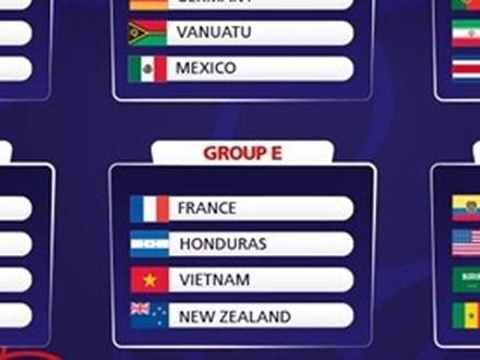 Bốc thăm U20 World Cup: U20 Việt Nam vào bảng đấu vừa sức