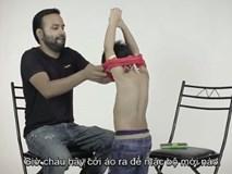 Video: Tình huống cho thấy con bạn có thể dễ dàng xâm hại chỉ trong vài phút