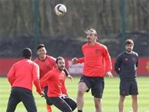 Man Utd rộn rã tiếng cười chuẩn bị tiếp đón Rostov