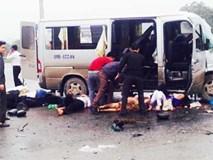 Hiện trường ôtô tải đâm xe đón dâu, 17 người thương vong