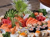 """Những món ăn từ cá hồi sống """"đốn tim"""" thực khách"""