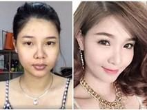 Bất ngờ vì ảnh mặt mộc và photoshop của các sao Việt