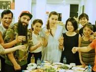 Đạo diễn 'Kong' ăn tối tại nhà riêng của Hồ Ngọc Hà