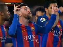 """Messi lập cú đúp, Barcelona """"bắn hạ"""" Valencia"""