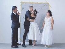 Bộ ảnh kỷ niệm ngày cưới đặc biệt của Phương Vy Idol khi có sự xuất hiện của bố mẹ