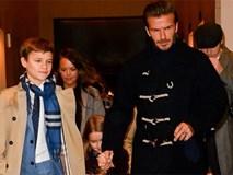 Nhà giàu sụ nhưng con trai thứ của David Beckham vẫn đi rửa chén tại quán cà phê