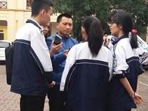 Khiển trách nữ giám thị gian lận trong kỳ thi học sinh giỏi