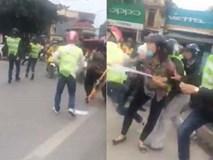 Nhóm phượt thủ nẹt pô, đánh người giữa phố