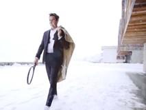 Federer xuất hiện gợi cảm trên tạp chí thời trang