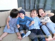 Ngắm 4 nhóc tỳ xinh xắn như thiên thần nhà Lý Hải