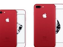 Apple bất ngờ trình làng iPhone 7/7 Plus phiên bản đỏ cùng loạt sản phẩm mới