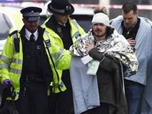 Hiện trường hỗn loạn sau vụ nổ súng ngoài tòa Nghị viện Anh