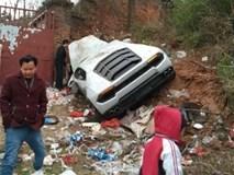 Siêu xe Lamborghini Huracan hỏng nặng