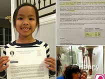 Lộ bảng điểm của con gái Việt Hương ở trường Mỹ khiến ai cũng phải choáng