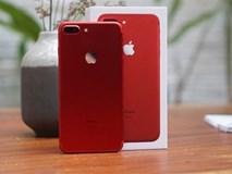 Cận cảnh iPhone 7 Plus đỏ tại VN: Độc, đẹp, giá cao