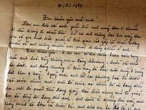 """Lá thư xúc động của người lính trước khi hy sinh: """"Tan giặc anh về, chờ đợi anh em nhé, chờ đợi anh"""""""