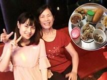 Bà mẹ chồng làm thơ tặng con dâu và bữa ăn