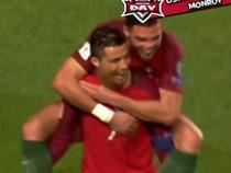 Ronaldo lập cú đúp siêu phẩm giúp Bồ Đào Nha đè bẹp Hungary