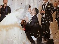 """""""Tình yêu không cưa cũng đổ"""" với soái ca Hàn và hôn lễ đậm chất Việt cùng nón lá và hoa đá"""