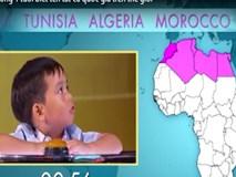 """""""Thần đồng"""" 4 tuổi biết tên tất cả quốc gia trên thế giới"""