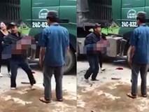 Yên Bái: Bố đau đớn ôm thi thể con trai 2 tuổi bị xe tải cán tử vong