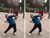 'Phục sát đất' cụ bà tập dưỡng sinh kết hợp nhảy hiphop cực sung