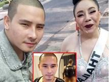 Chồng trẻ của nữ đại gia U60 Thái Lan lộ ảnh nóng và mặt thật