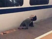 Trung Quốc: Kinh hoàng người đàn ông bị tàu cao tốc nghiền nát người
