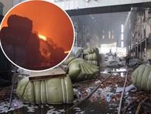 Vì sao công ty may ở Cần Thơ bùng cháy dữ dội 4 ngày liền?