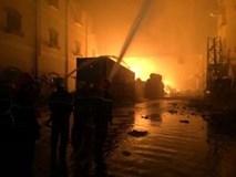Chập điện gây ra vụ cháy 4 ngày tại công ty may ở Cần Thơ