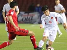 Ghi bàn trước, ĐT Việt Nam vẫn chia điểm với Afghanistan
