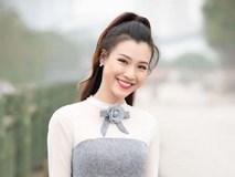 Á hậu Hoàng Oanh khoe sắc ngọt ngào, tươi trẻ
