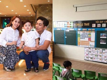 Khánh Thi khoe ảnh ngày đầu tiên Kubi đi học, ai cũng choáng khi nhìn bảng học phí